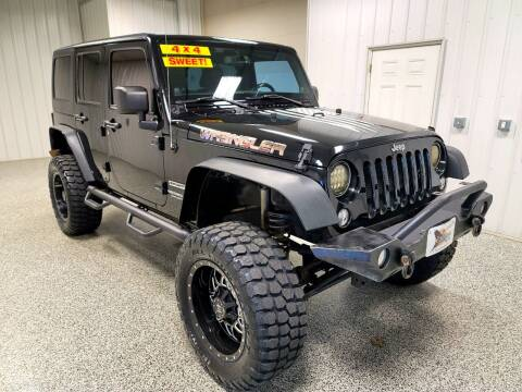 2014 Jeep Wrangler Unlimited for sale at LaFleur Auto Sales in North Sioux City SD