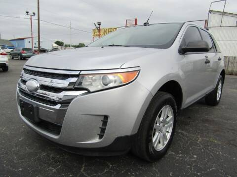 2012 Ford Edge for sale at AJA AUTO SALES INC in South Houston TX