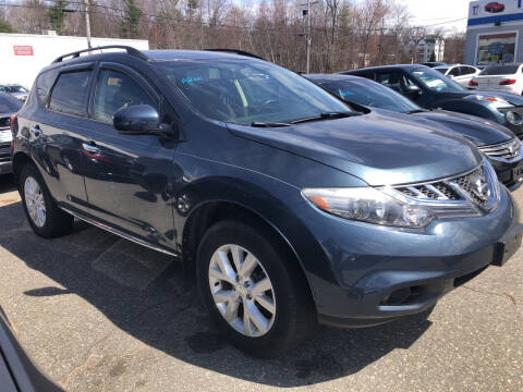 2014 Nissan Murano for sale at Top Line Import of Methuen in Methuen MA