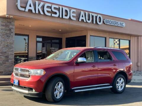 2013 Dodge Durango for sale at Lakeside Auto Brokers Inc. in Colorado Springs CO