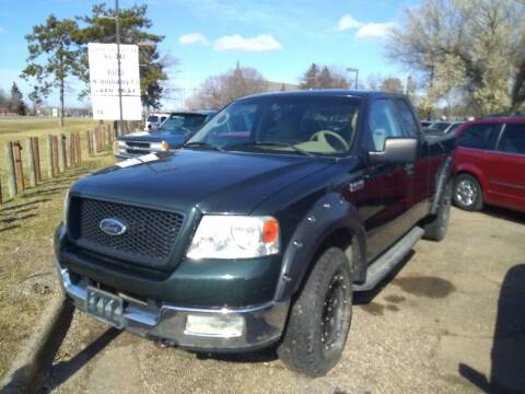 2004 Ford F-150 for sale at Continental Auto Sales in White Bear Lake MN