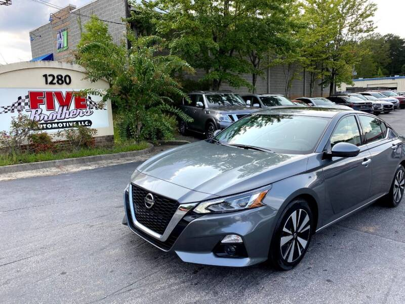 2020 Nissan Altima for sale at Five Brothers Auto Sales in Roswell GA
