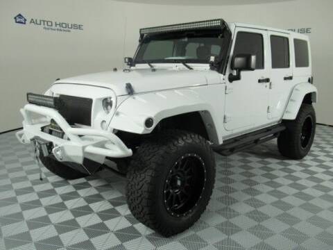 2016 Jeep Wrangler Unlimited for sale at Autos by Jeff Tempe in Tempe AZ