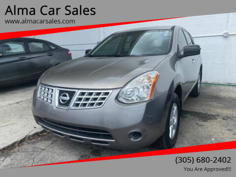 2010 Nissan Rogue for sale at Alma Car Sales in Miami FL