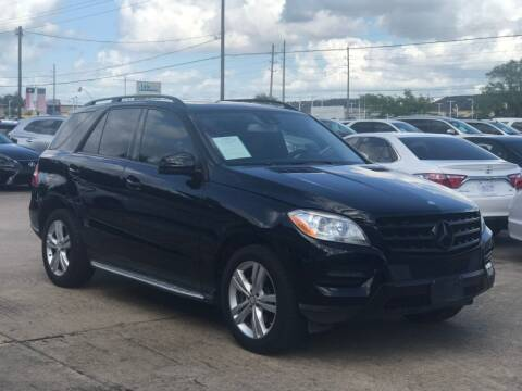 2014 Mercedes-Benz M-Class for sale at Discount Auto Company in Houston TX