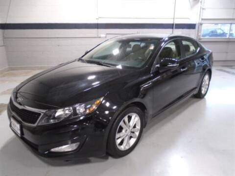 2012 Kia Optima for sale at Luxury Car Outlet in West Chicago IL