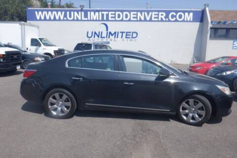 2010 Buick LaCrosse for sale at Unlimited Auto Sales in Denver CO