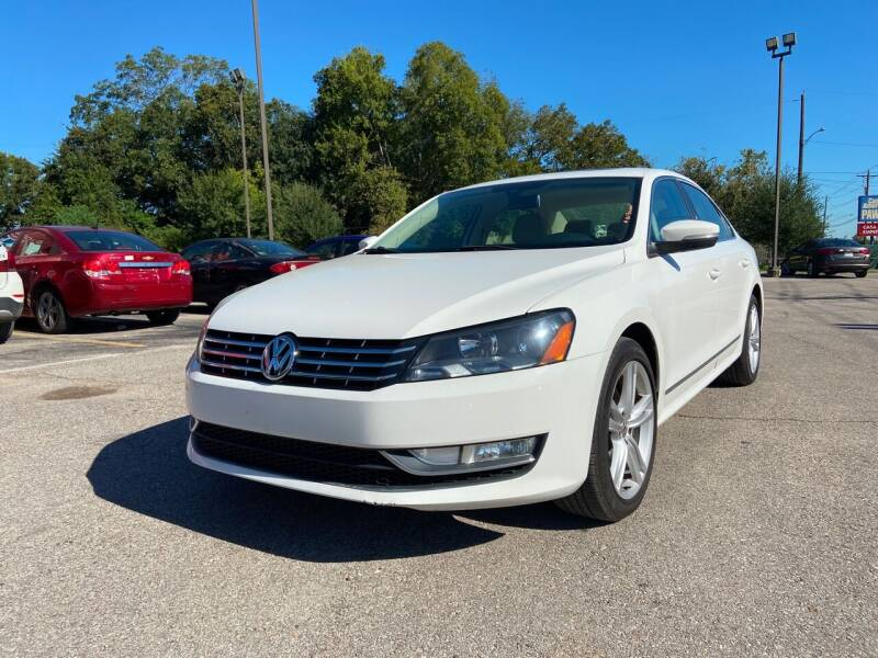 2013 Volkswagen Passat for sale at Space City Auto Center in Houston TX
