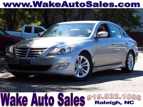 2012 Hyundai Genesis for sale at Wake Auto Sales Inc in Raleigh NC