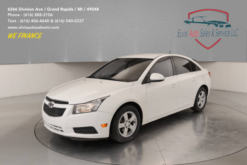 2014 Chevrolet Cruze for sale at Elvis Auto Sales LLC in Grand Rapids MI