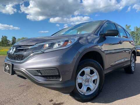 2015 Honda CR-V for sale at LUXURY IMPORTS in Hermantown MN