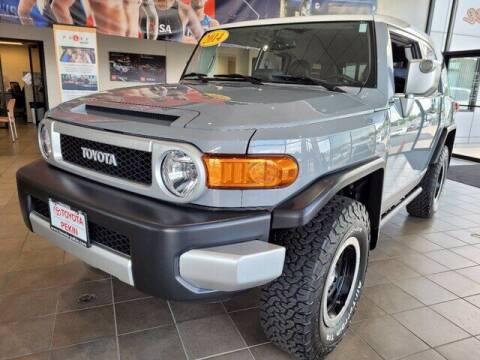 2014 Toyota FJ Cruiser for sale at Auto Smart of Pekin in Pekin IL