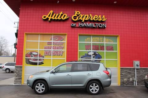2007 Toyota RAV4 for sale at AUTO EXPRESS OF HAMILTON LLC in Hamilton OH