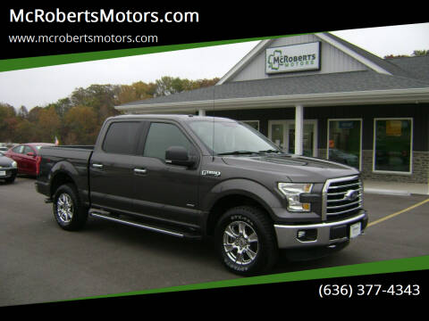 2016 Ford F-150 for sale at McRobertsMotors.com in Warrenton MO