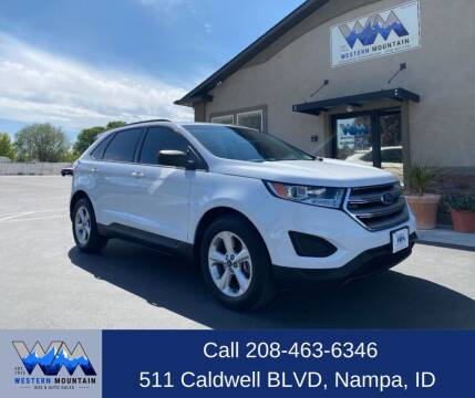 2016 Ford Edge for sale at Western Mountain Bus & Auto Sales in Nampa ID