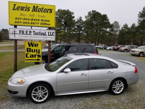 2012 Chevrolet Impala for sale at Lewis Motors LLC in Deridder LA