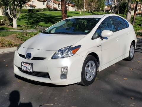 2010 Toyota Prius for sale at E MOTORCARS in Fullerton CA