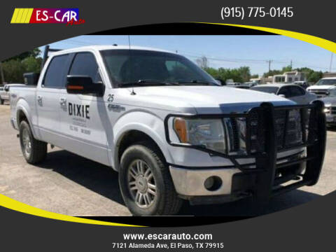 2010 Ford F-150 for sale at Escar Auto in El Paso TX