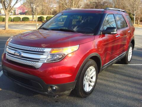 2013 Ford Explorer for sale at Uniworld Auto Sales LLC. in Greensboro NC