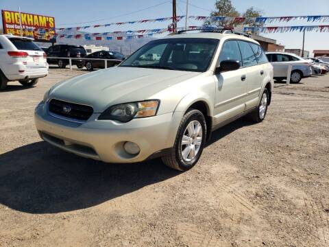 2005 Subaru Outback for sale at Bickham Used Cars in Alamogordo NM