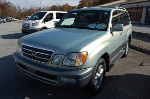 2005 Lexus LX 470 for sale at Modern Motors - Thomasville INC in Thomasville NC