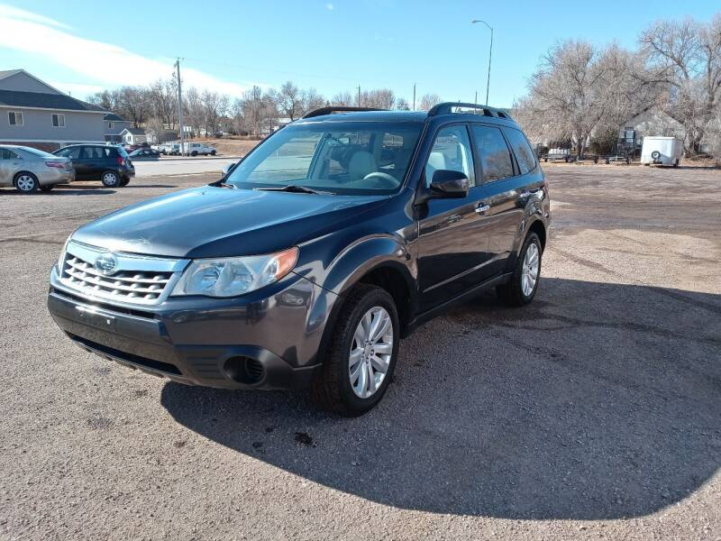 2012 Subaru Forester for sale at Bennett's Motorsports in Hot Springs SD