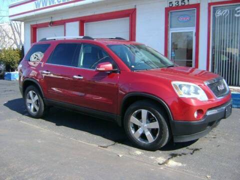 2011 GMC Acadia for sale at Cedar Auto Sales in Lansing MI