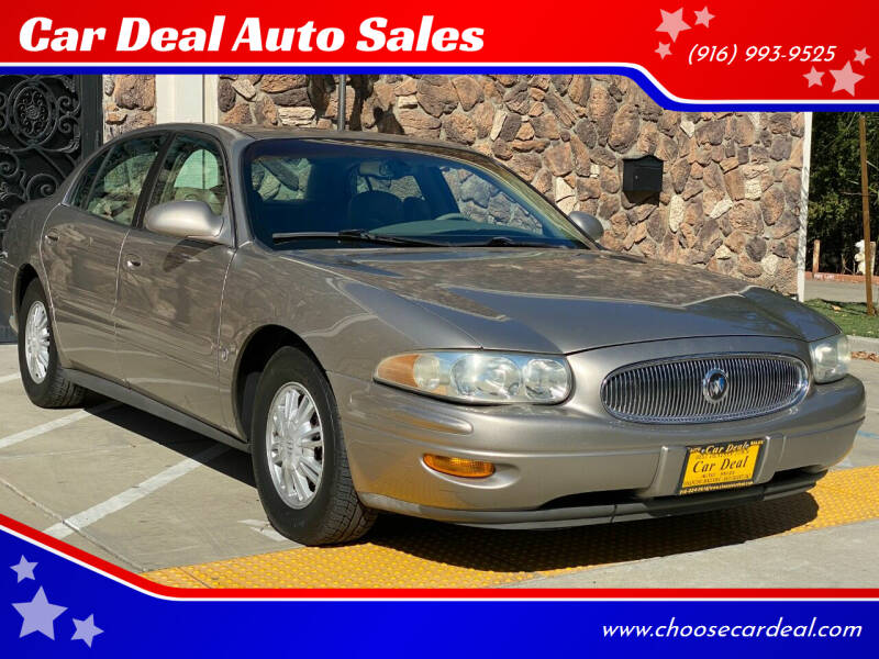2002 Buick LeSabre for sale at Car Deal Auto Sales in Sacramento CA