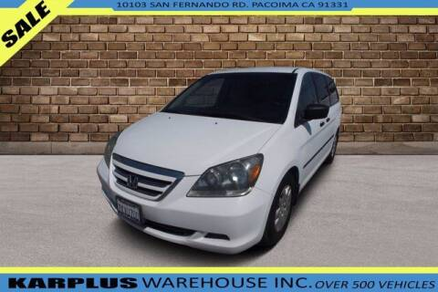 2007 Honda Odyssey for sale at Karplus Warehouse in Pacoima CA
