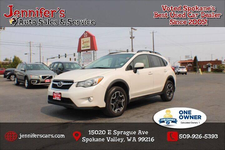 2014 Subaru XV Crosstrek for sale at Jennifer's Auto Sales in Spokane Valley WA