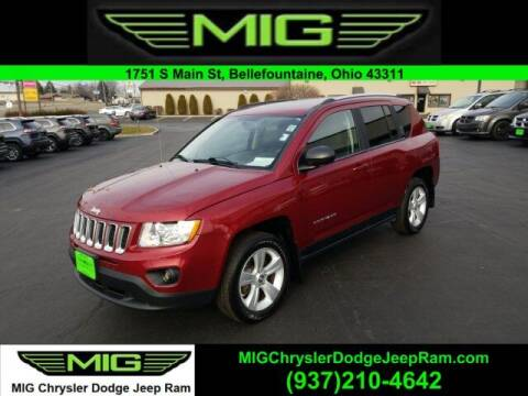2012 Jeep Compass for sale at MIG Chrysler Dodge Jeep Ram in Bellefontaine OH