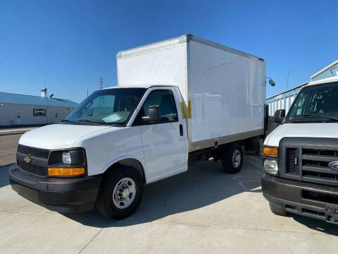 2017 SOLD......Chevy Box Truck Call 701-223-8000 for info for sale at Albers Sales and Leasing, Inc in Bismarck ND