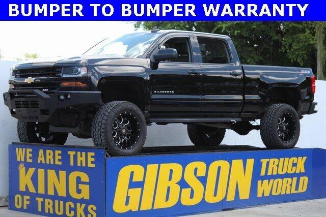 2016 Chevrolet Silverado 1500 for sale at Gibson Truck World in Sanford FL