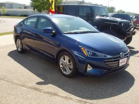 2020 Hyundai Elantra for sale at Magic City Wholesale in Minot ND