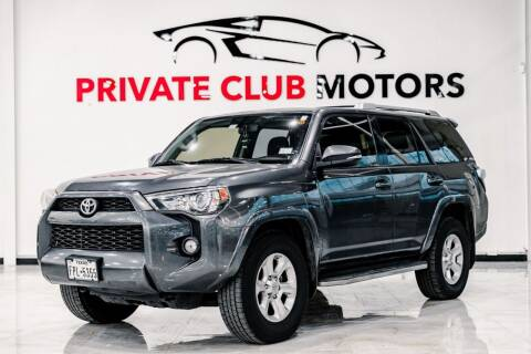 2015 Toyota 4Runner for sale at Private Club Motors in Houston TX