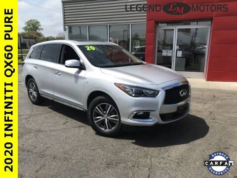 2020 Infiniti QX60 for sale at Legend Motors of Detroit - Legend Motors of Ferndale in Ferndale MI