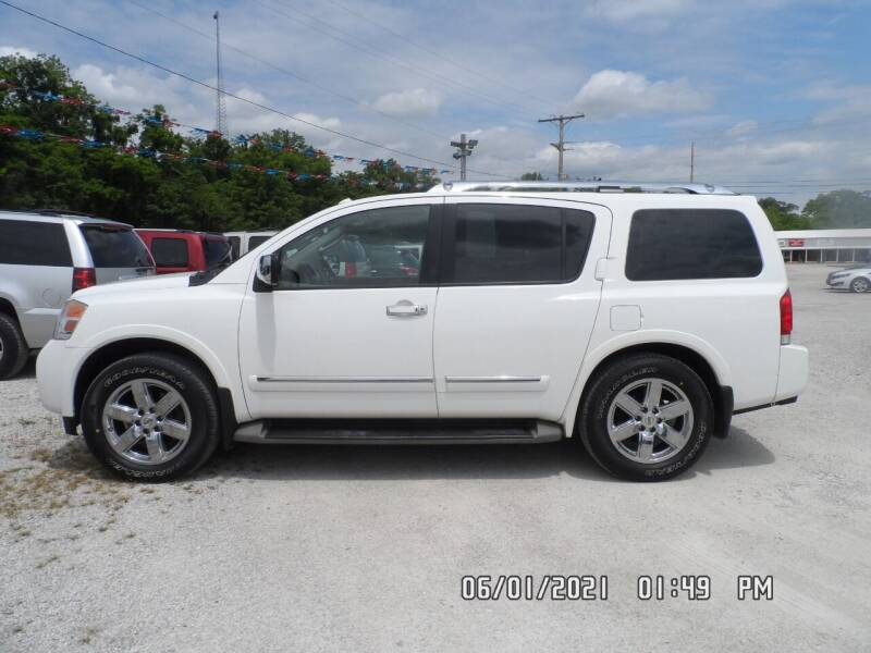 2012 Nissan Armada for sale at Town and Country Motors in Warsaw MO