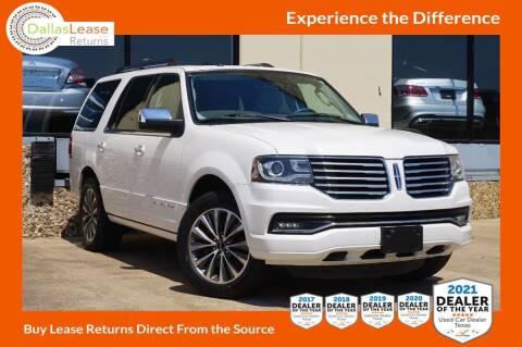 2015 Lincoln Navigator for sale at Dallas Auto Finance in Dallas TX