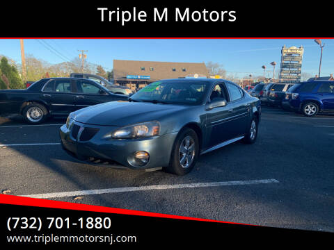 2006 Pontiac Grand Prix for sale at Triple M Motors in Point Pleasant NJ