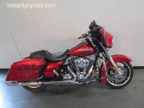 2013 Harley-Davidson Street Glide for sale at INTEGRITY CYCLES LLC in Columbus OH