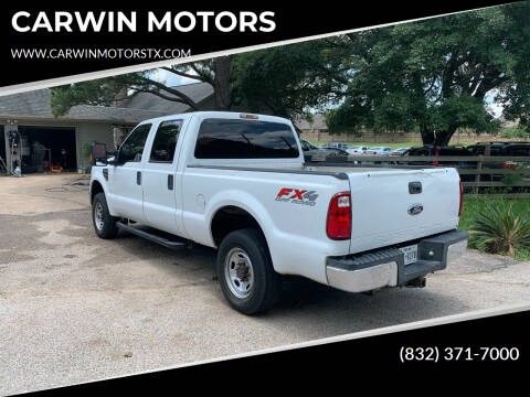 2010 Ford F-250 Super Duty for sale at CARWIN MOTORS in Katy TX