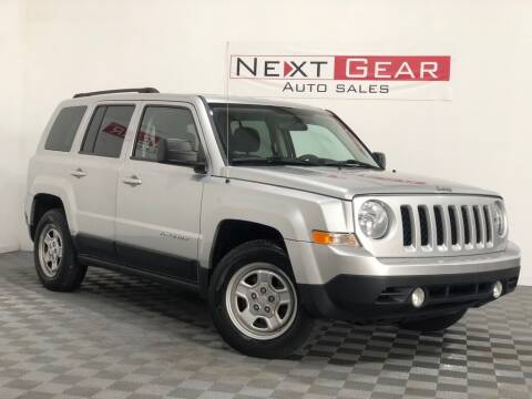2012 Jeep Patriot for sale at Next Gear Auto Sales in Westfield IN