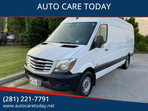 2014 Freightliner Sprinter Cargo for sale at AUTO CARE TODAY in Spring TX