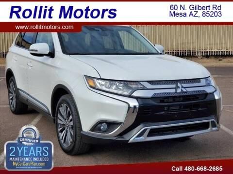 2020 Mitsubishi Outlander for sale at Rollit Motors in Mesa AZ