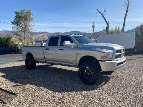 2012 RAM Ram Pickup 3500 for sale at Hoskins Trucks in Bountiful UT