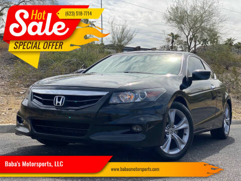 2012 Honda Accord for sale at Baba's Motorsports, LLC in Phoenix AZ