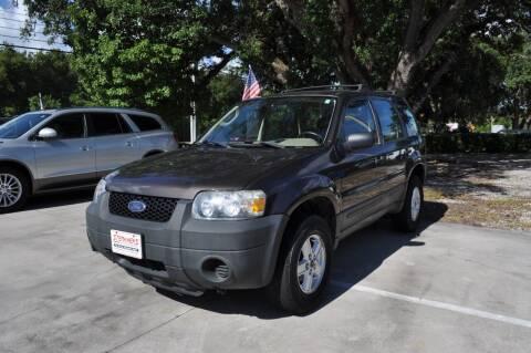 2007 Ford Escape for sale at STEPANEK'S AUTO SALES & SERVICE INC. in Vero Beach FL