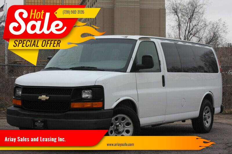 2009 Chevrolet Express Passenger for sale at Ariay Sales and Leasing Inc. in Denver CO