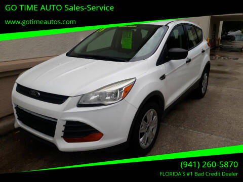 2013 Ford Escape for sale at Go Time Automotive in Sarasota FL