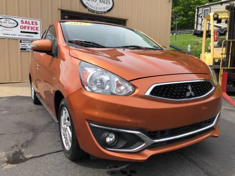 2017 Mitsubishi Mirage for sale at W V Auto & Powersports Sales in Charleston WV